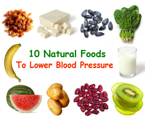 Natural Foods That Help Reduce High Blood Pressure