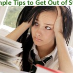 5 Simple tips to get out of stress