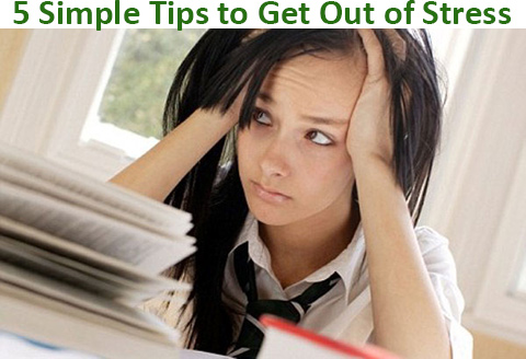tips to get out of stress