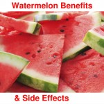 The health benefits of watermelon and its side effects